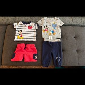 Disney outfit sets both for 15 dollars